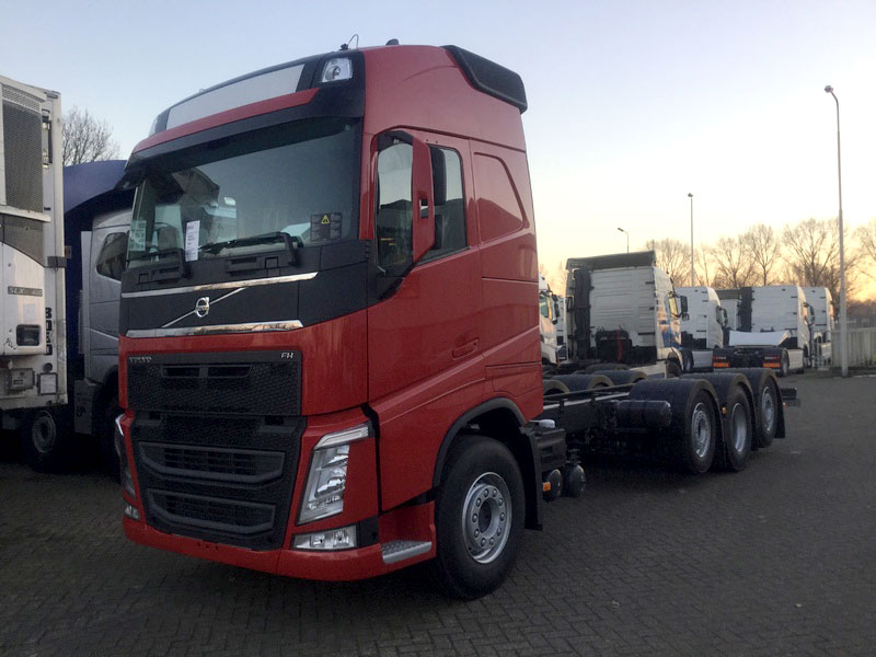 Croonen Volvo FH4 trippe as